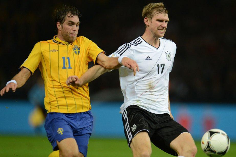 L'Allemagne, après avoir mené 4-0 grâce notamment à un doublé de... (Photo AFP)