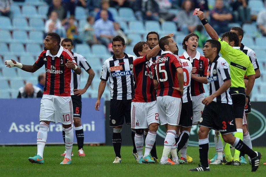 Une cour italienne a ordonné aux arbitres impliqués dans un... (Photo: AFP)