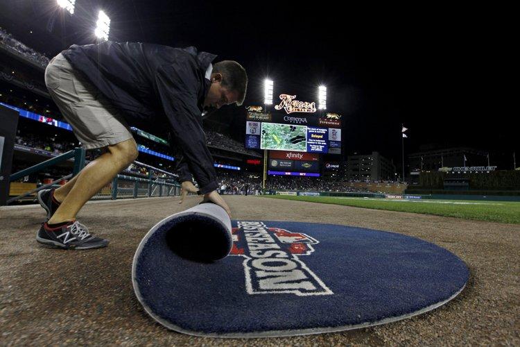 Le baseball majeur a décidé de reporter le quatrième match de la... (Photo: AP)