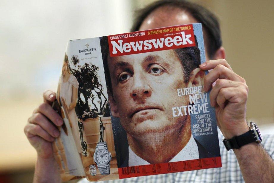 Le vénérable magazine américain Newsweek, qui fêtera l'an... (Photo: AFP)