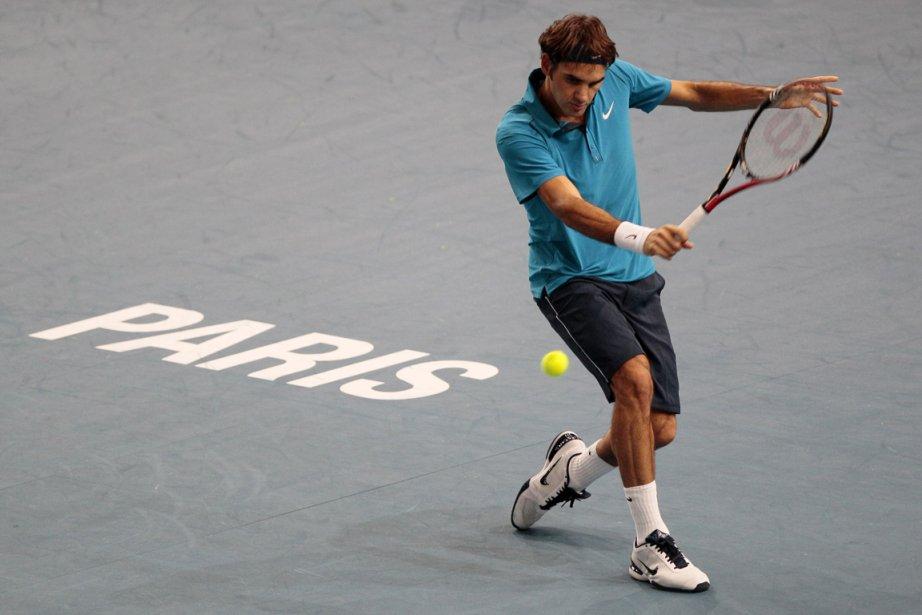 Roger Federer au Masters de Paris-Bercy en novembre... (Photo: AFP)