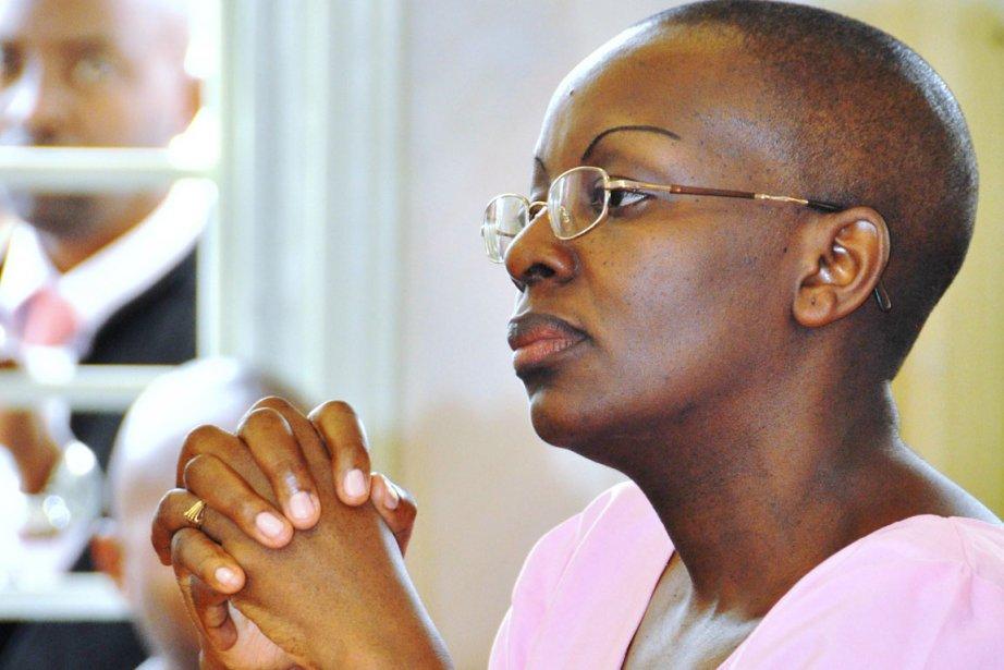 Présidente des FDU, formation d'opposition non reconnue par... (PHOTO ARCHIVES AFP)