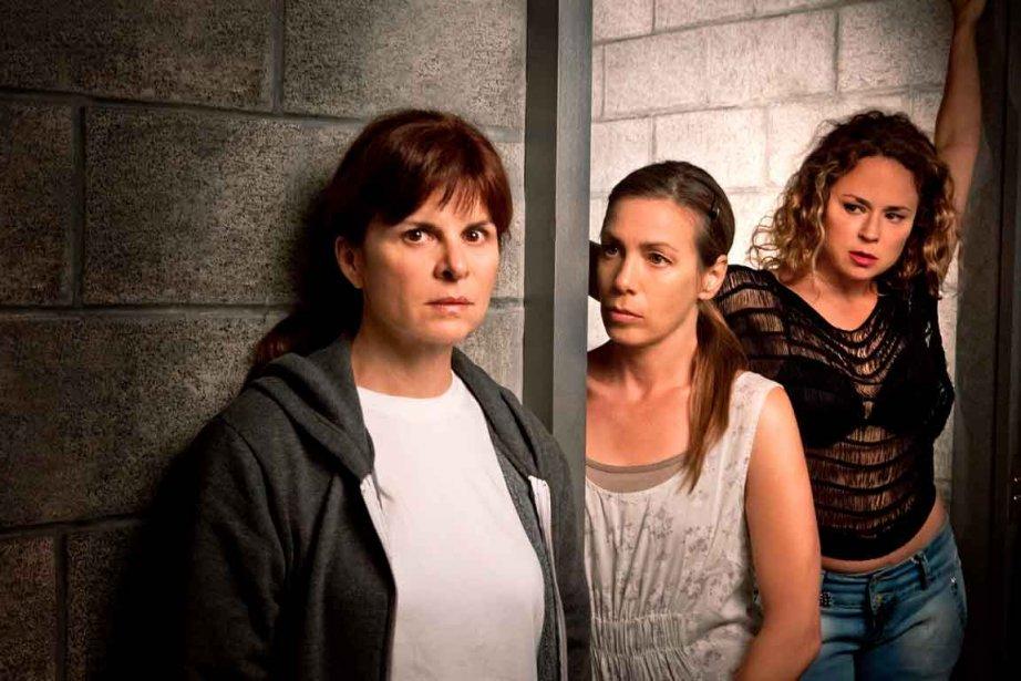 Guylaine Tremblay, Céline Bonnier et Suzanne Clément dans... (Photothèque Le Soleil)
