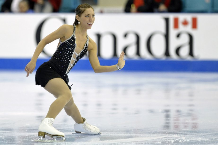 La Québécoise Amélie Lacoste table sur ses performances... (Photo: Reuters)