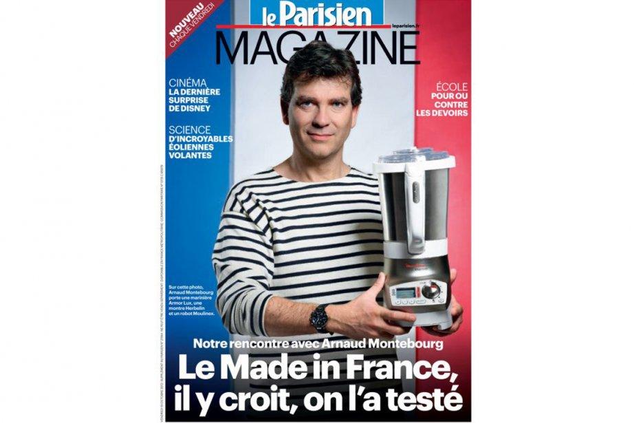 Arnaud Montebourg, ministre du Redressement productif, fait la... (Photo Leparisien.fr)