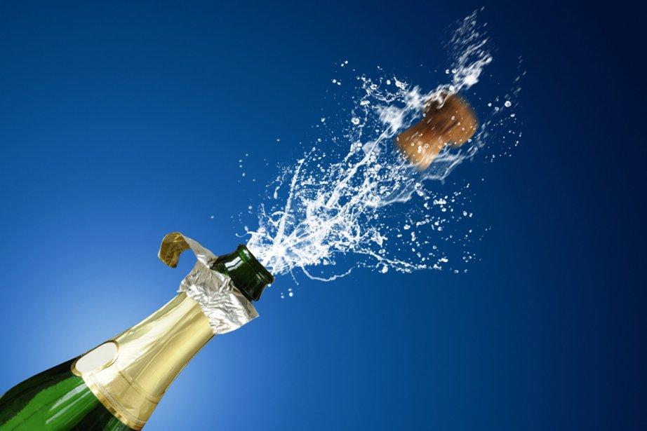 1.2300 bouteilles de champagnes débouchées chaque soir... (Photo: Photos.com)