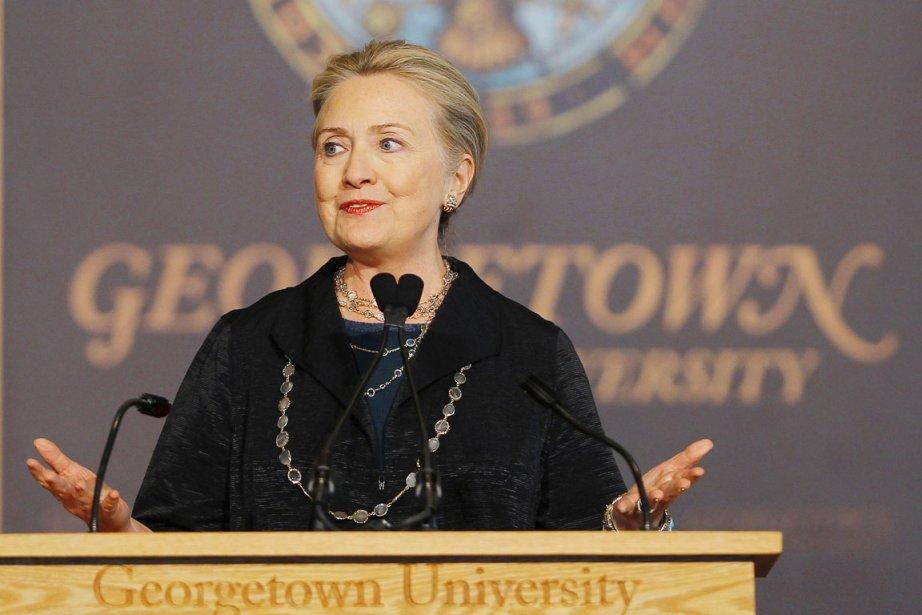 La secrétaire d'État américaine Hillary Clinton.... (PHOTO GARY CAMERON, REUTERS)