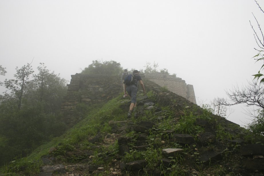 La Grande Muraille de Chine peut se visiter... (Photo: Valérie Simard, La Presse)