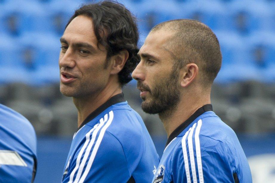 Alessandro Nesta et Marco Di Vaio, deux membres... (Photo: PC)