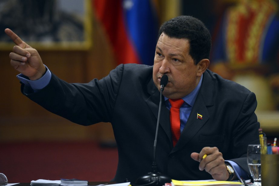 Hugo Chavez... (PHOTO JUAN BARRETO, AFP)