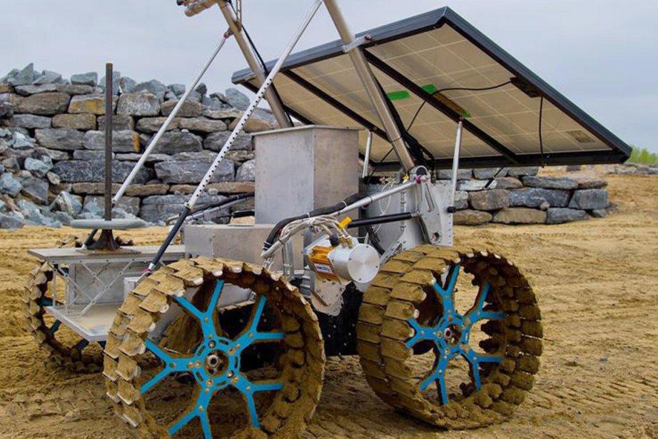 Un prototype de robot pour l'exploration de l'Agence... (PHOTO LA PRESSE CANADIENNE)