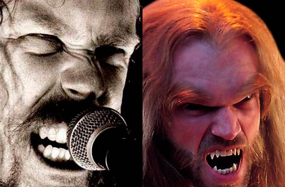 James Hetfield et Sabretooth.... (Photomontage.)