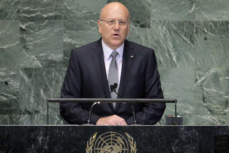 Le premier ministre libanais Najib Mikati... (Photo : Brendan McDermid, Reuters)
