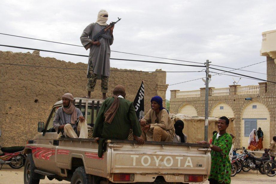 Des islamistes armé à Tombouctou... (Photo AFP)