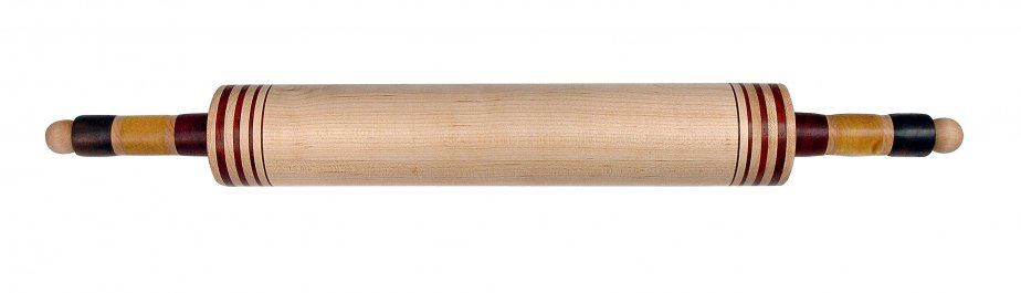 Bâton en érable et Padouk de Jean-Pierre Déry, 84$ chez Pot en Ciel (27, rue du Petit-Champlain, Québec, 418 692-1743) | 21 octobre 2012