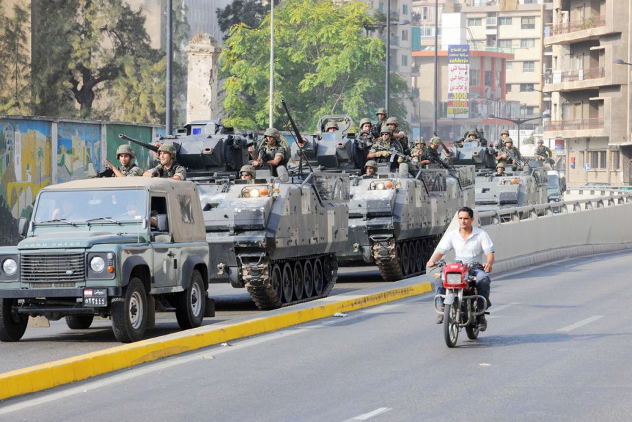 Dans un communiqué, l'armée s'est déclarée «déterminée à... (PHOTO AHMAD OMAR, AP)