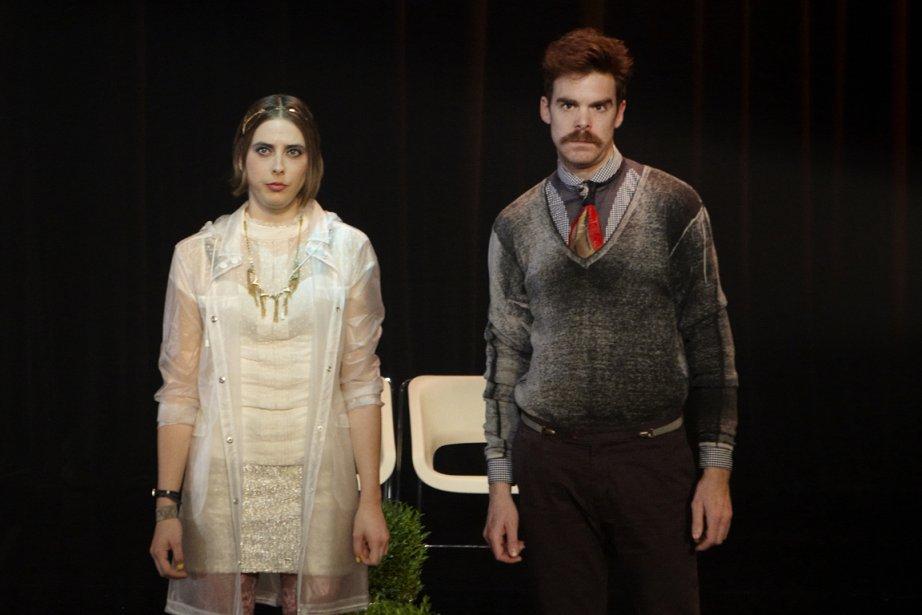 Dani (Ève Landry) et Mani (Sébastien Dodge) envient... (Photo fournie par la production)