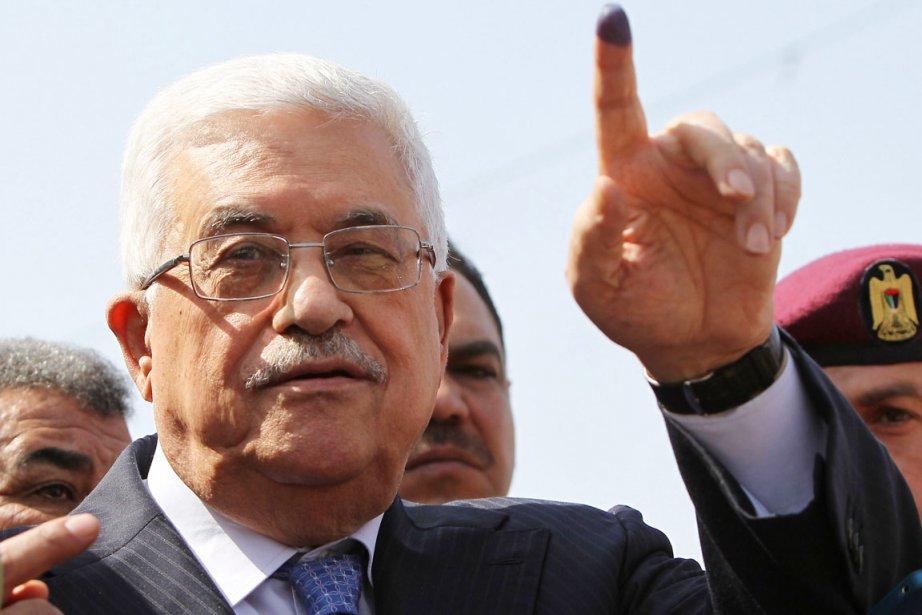 Le président de l'Autorité palestinienne Mahmoud Abbas a... (PHOTO ABBAS MOMANI, AFP)