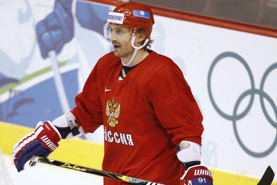 À 42 ans, Sergei Fedorov n'a pas annoncé... (Photo: archives Reuters)