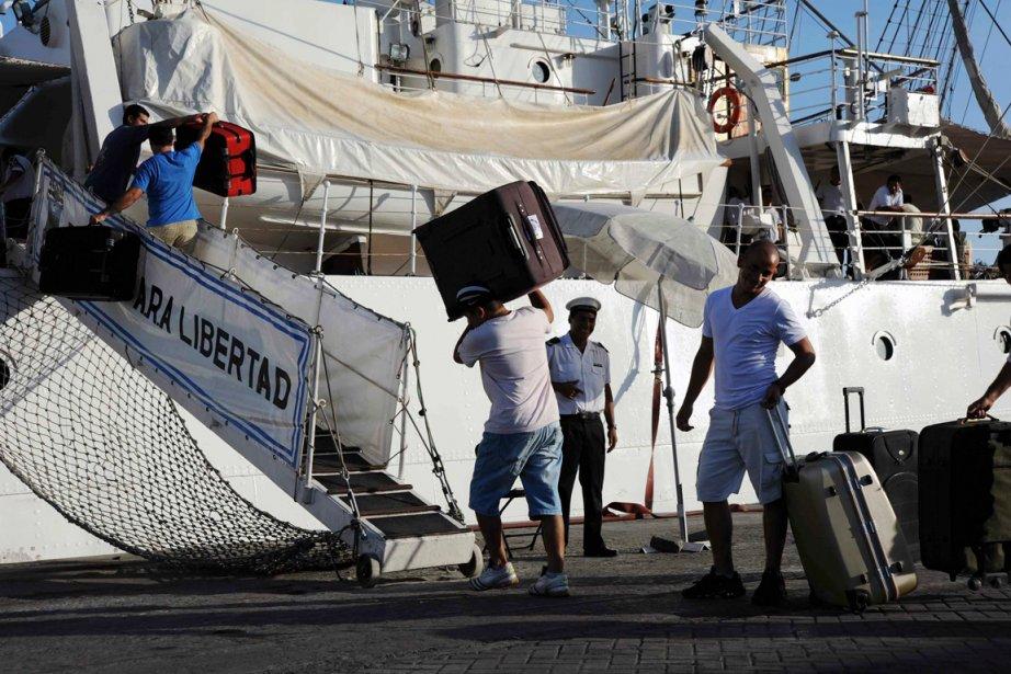 «Nous avons reçu notification d'organiser le départ de... (PHOTO REUTERS)