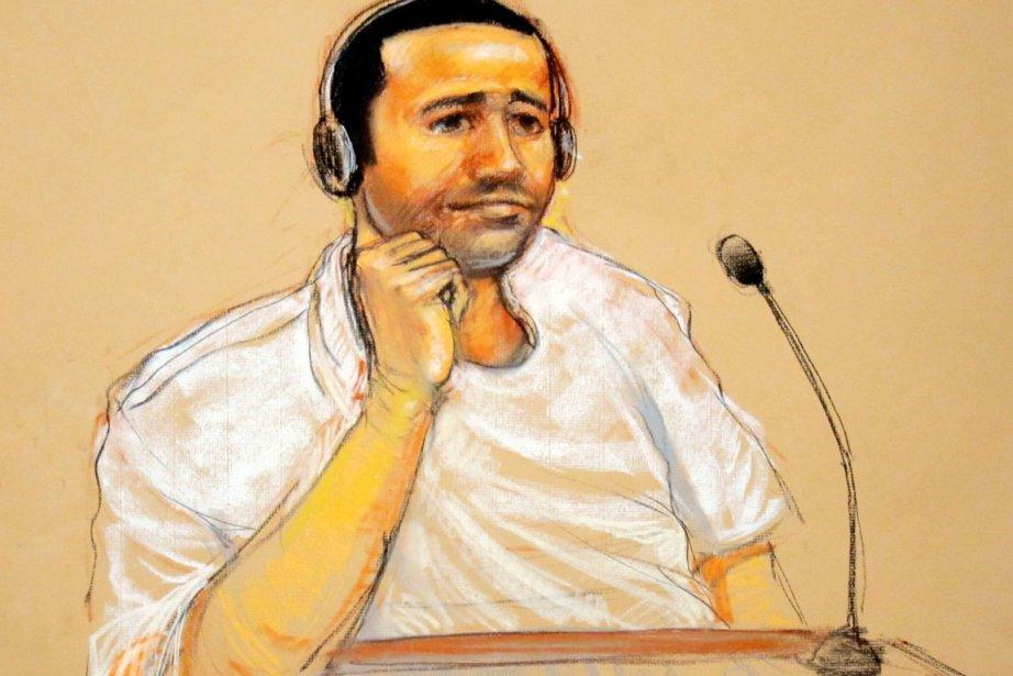 Considéré comme un proche d'Oussama ben Laden, M.Nachiri,... (ILLUSTRATION JANET HAMLIN, ARCHIVES AFP)