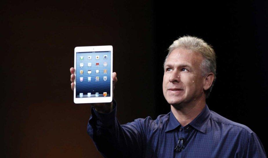 «Ceci est l'iPad mini», a dit Philip Schiller,... (PHOTO ROBERT GALBRAITH, REUTERS)