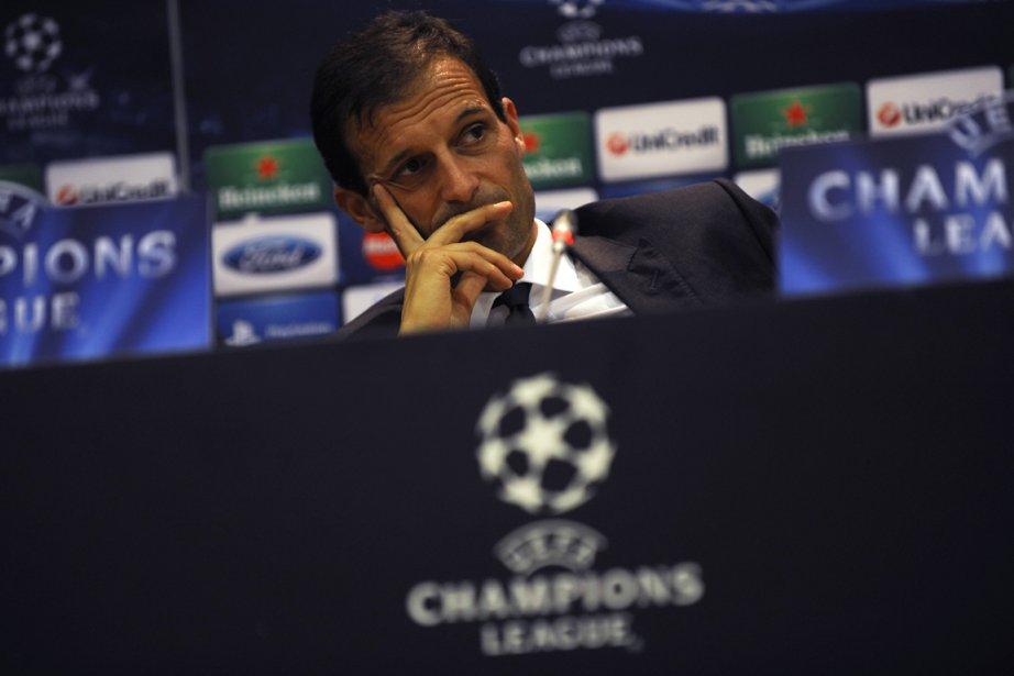 L'entraîneur de l'AC Milan, Massimiliano Allegri.... (Photo: AFP)