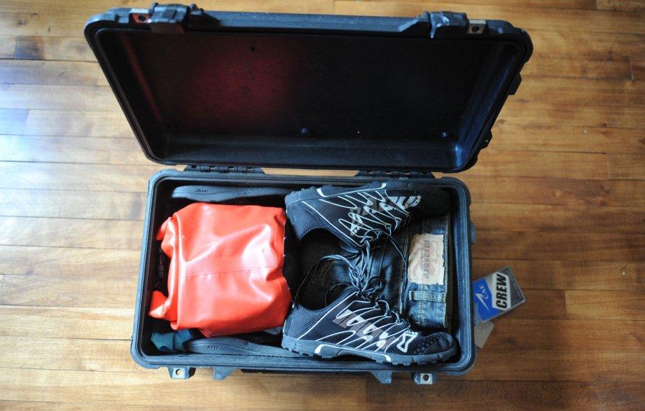 La valise du pilote Patrick Collet: une Pelican 1510. | 23 octobre 2012