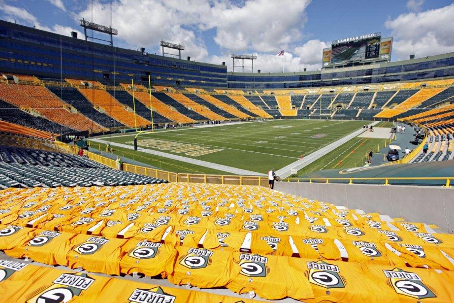 Lambeau Field, le stade des Packers de Green... (Photo: AP)