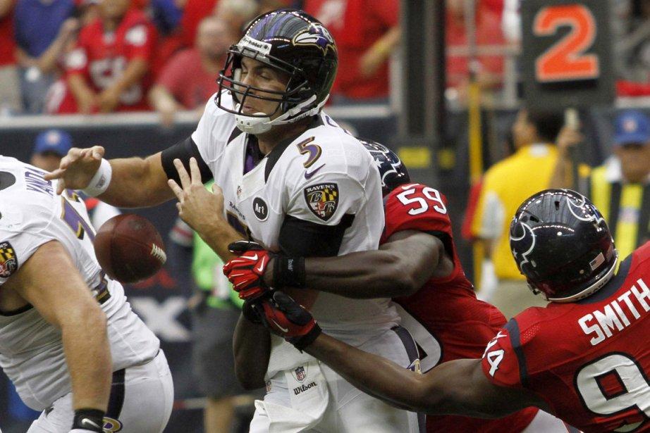 Écrasés 43-13 par les Texans à Houston dimanche,... (Photo: Reuters)