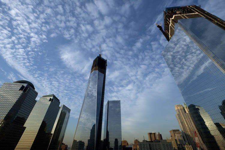 Le gratte-ciel le plus haut du site où... (Photo: AP)
