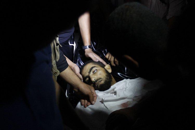 Deux Palestiniens ont été tués et sept blessés durant la nuit de... (Photo: AFP)