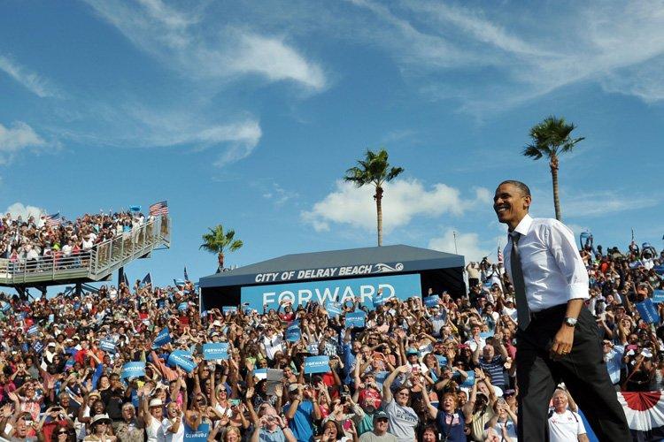 Barack Obama avait appelé les Américains à lui... (Photo: AFP)