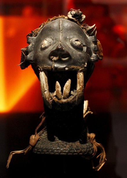 Cimier-crâne de danse Ejagham | 24 octobre 2012