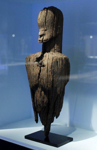Buste de statue Mboi-Yungur | 24 octobre 2012