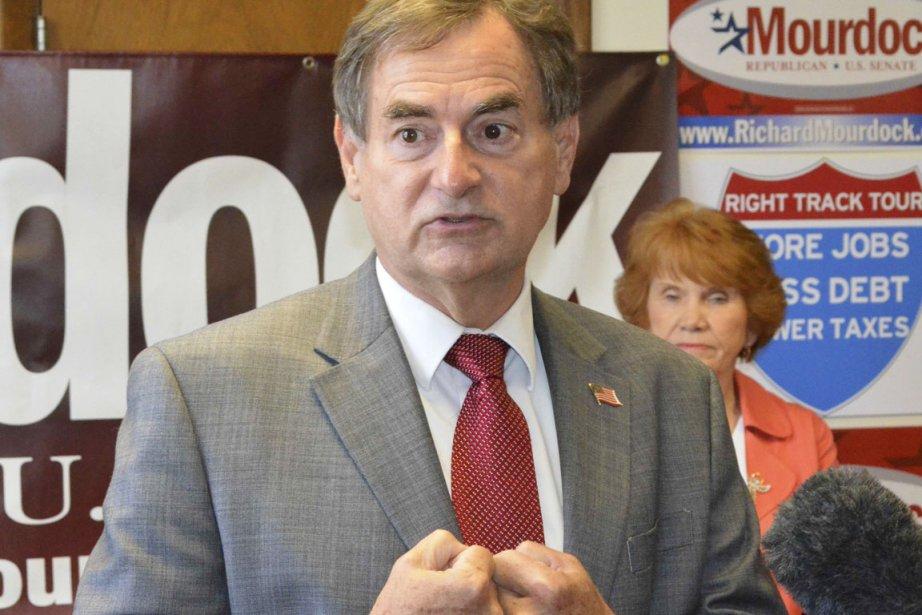 La gaffe du candidat de l'Indiana, Richard Mourdock... (PHOTO NICK CAREY, REUTERS)