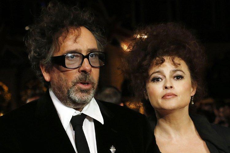 TimBurtonet sa femme Helena Bonham.... (Photo: AFP)