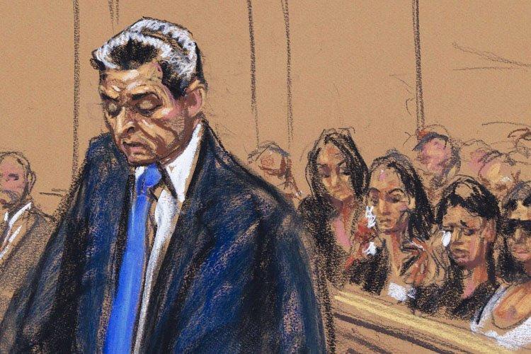 A l'énoncé du jugement, le financier n'a trahi... (Photo: Reuters)