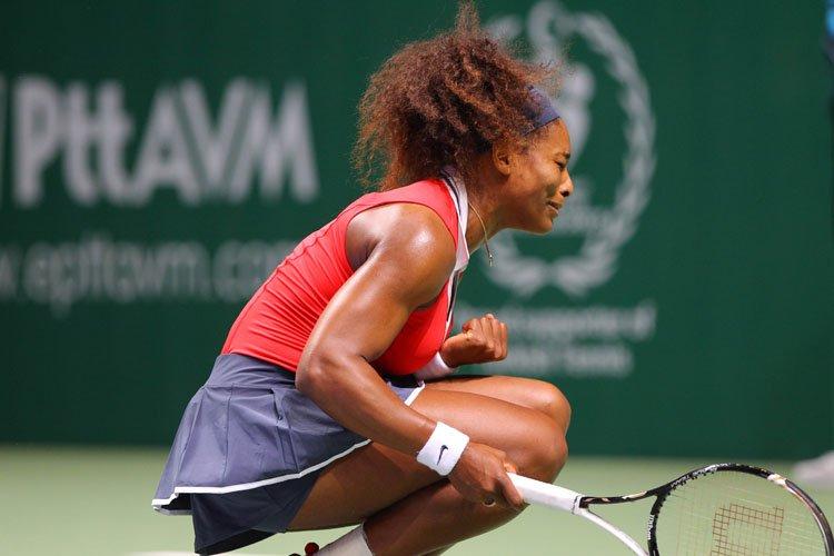 Serena Williams s'est raplombée après avoir connu un début de... (Photo: AFP)
