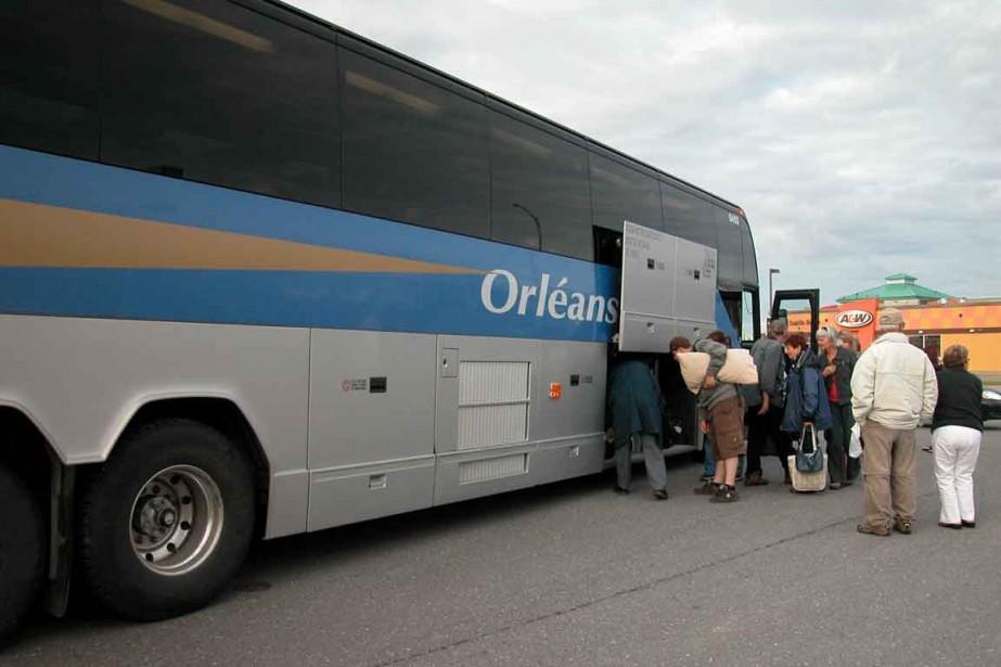 Orléans a l'intention de ne plus desservir les... (Photo Collaboration spéciale Johanne Fournier)