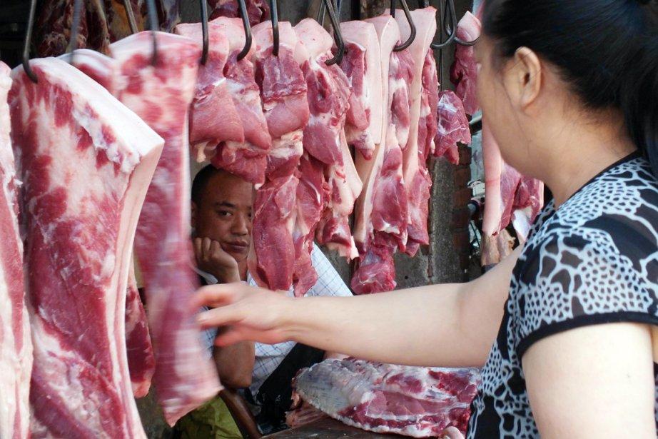 Dans la dernière décennie, la consommation de viande... (PHOTO AFP)