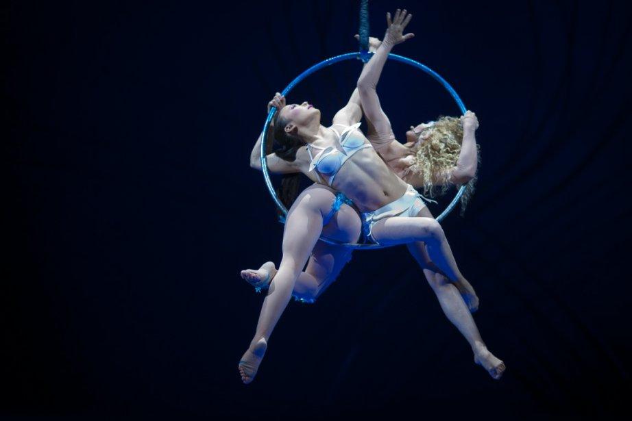 Amaluna, la plus récente création du Cirque du... (Photo André Pichette, La Presse)