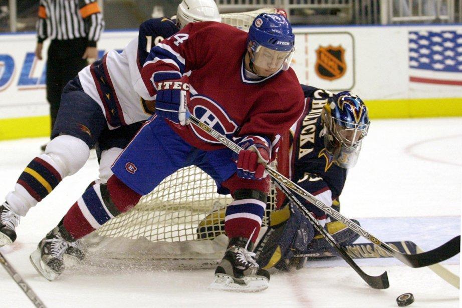Oleg Petrov a porté les couleurs du Canadien... (Photo: archives AP)
