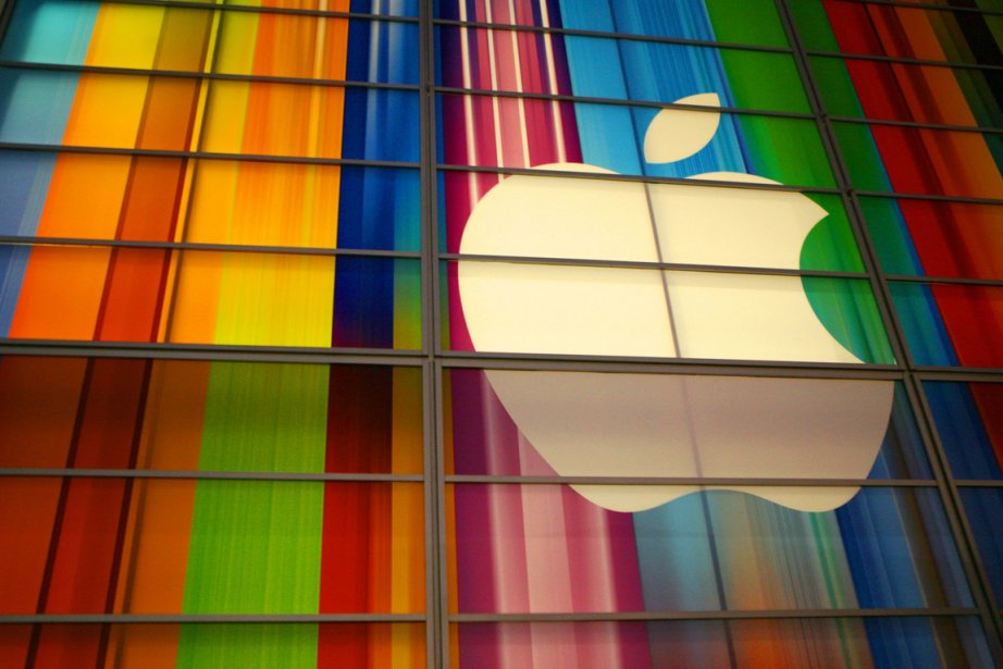 Le géant Apple( (PHOTO KIMIHORO HOSHINO, AFP)