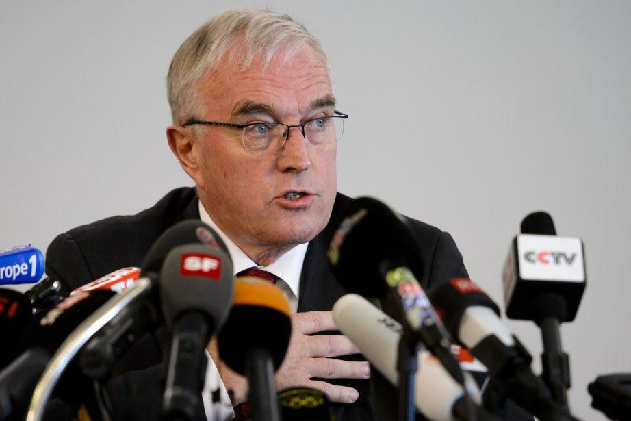 Le président de l'Union cycliste internationale (UCI), Pat... (Photo: archives AFP)