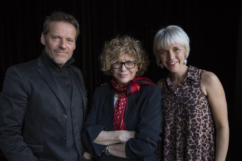 Luc Guérin, Denise Filiatrault et Brigitte Boisjoli.... (Photo Edouard Plante-Fréchette, La Presse)