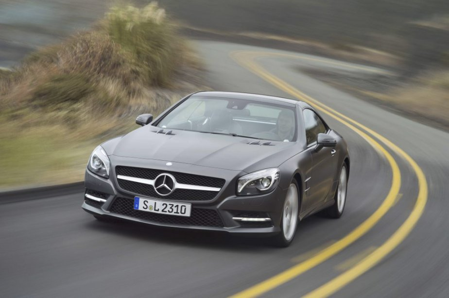 La Mercedes SL550 2013. (Photo fournie par Mercedes-Benz)