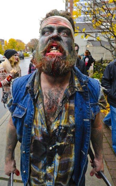 Marche des zombies à Ottawa. | 28 octobre 2012