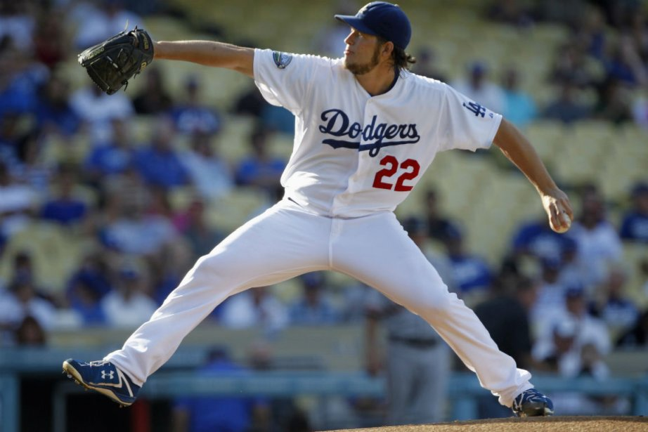Le lanceur des Dodgers, Clayton Kershaw.... (Photo Alex Gallardo, Reuters)