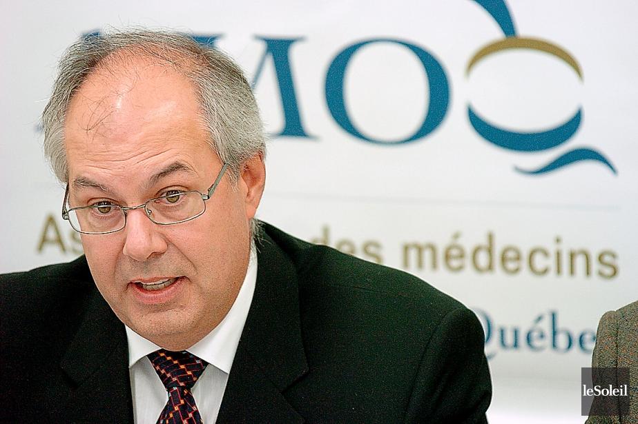 Le Dr Louis Godin, président de la Fédération... (Photothèque Le Soleil, Jean-Marie Villeneuve)